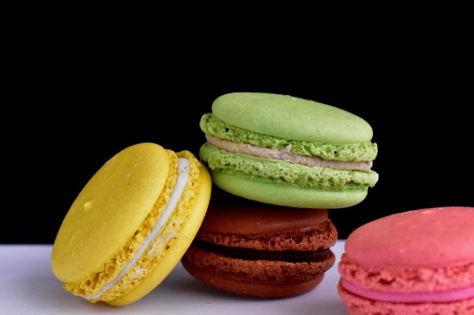 Macarons, postre típico de Francia