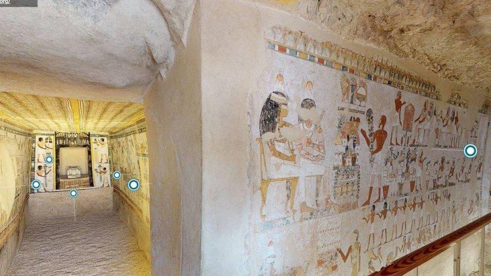 Tumba de la Reina, uno de los monumentos más famosos de Egipto de forma virtual