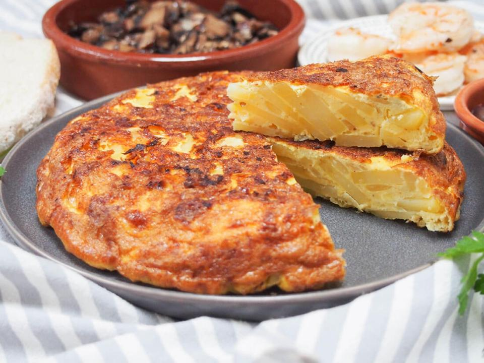 el dilema de la tortilla de patatas con o sin cebolla