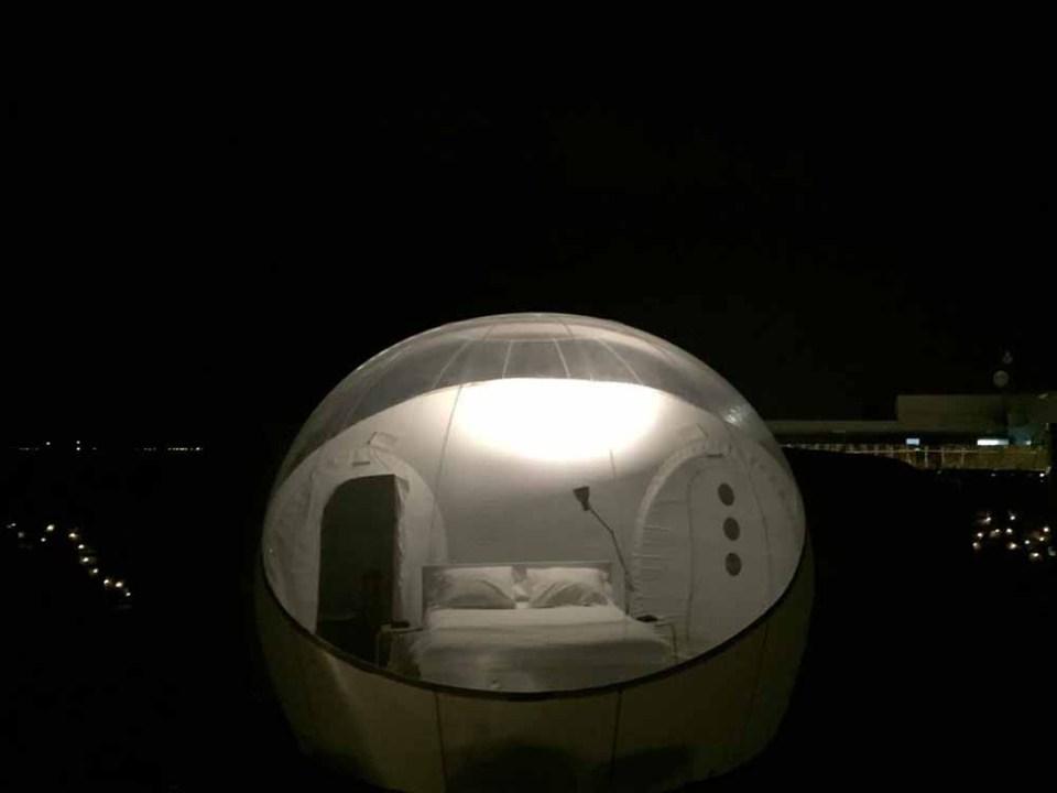 Hotel burbuja en España