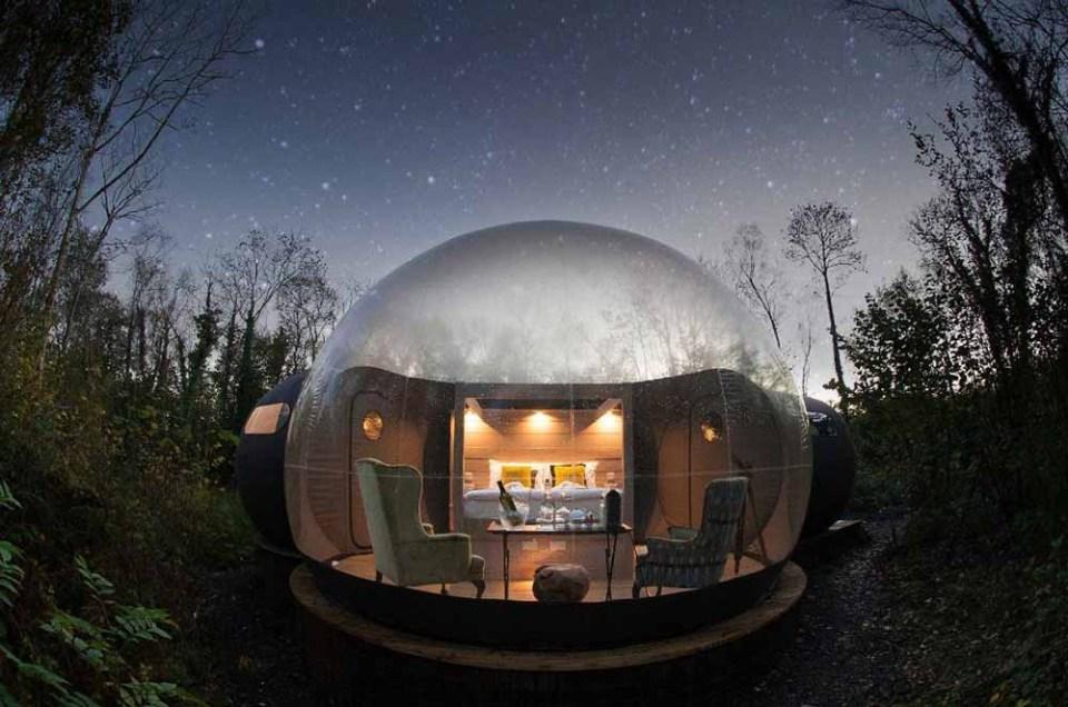 Hoteles burbuja más originales