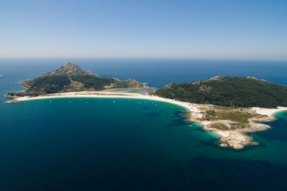 Islas Cíes en Vigo