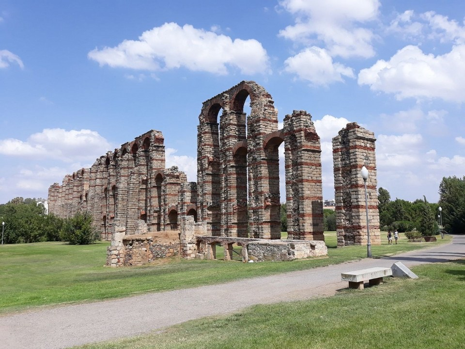 Mérida, ruta romana del cicloturismo en España