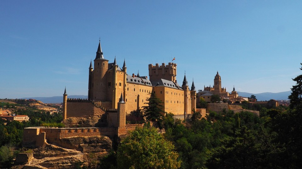 Monumentos más visitados de España de Segovia