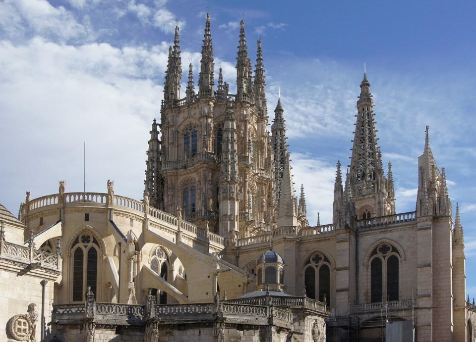 Catedral de Burgos en vista panorámica
