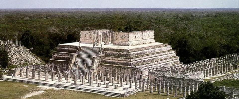 Templo de los guerreros Chichén Itzá