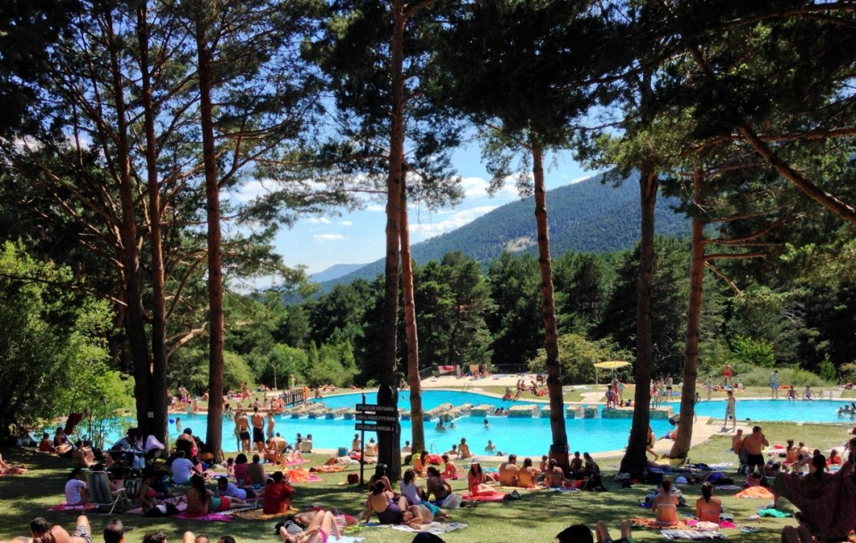 mejores zonas de río para bañarse de Madrid