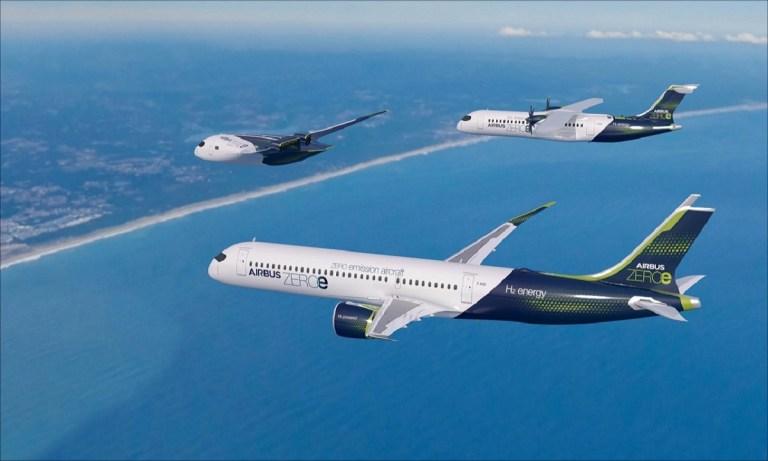 Aviones cero emisiones ZEROe