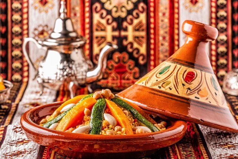 platos típicos de la gastronomía marroquí