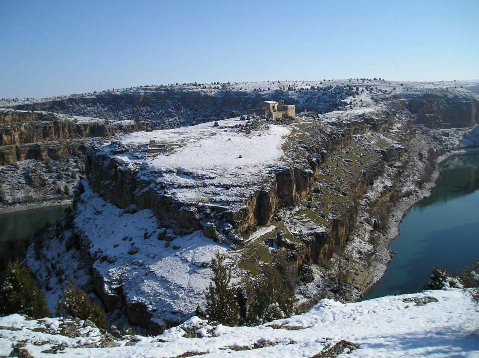 La ermita de San Frutos es uno de los atractivos de las Hoces del Río Duratón