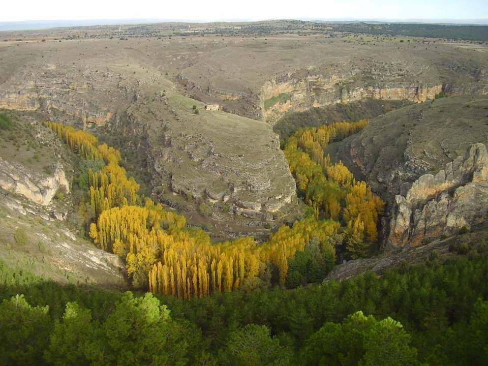 Hoces del Río Duratón es ideal para hacer senderismo