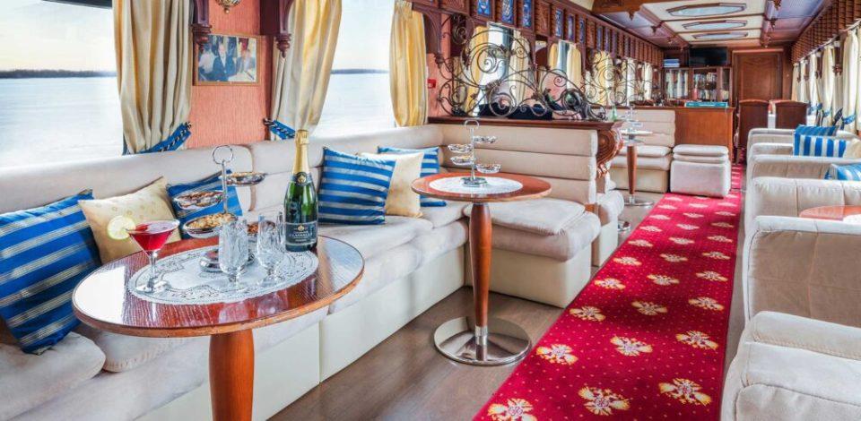 viajes en tren de lujo: el transiberiano Golden Eagle
