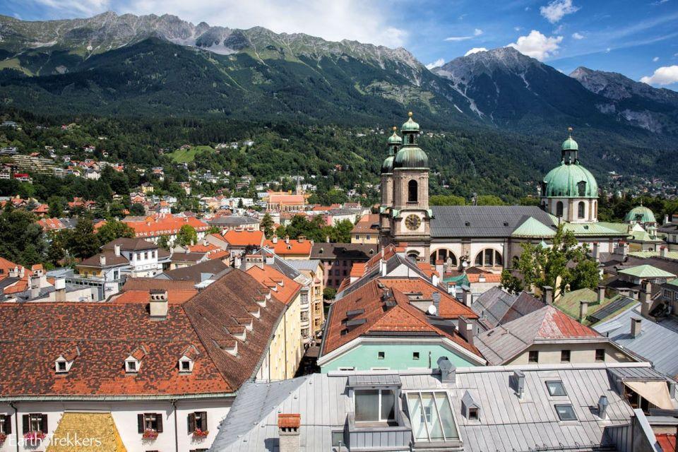 Vistas torre Innsbruck