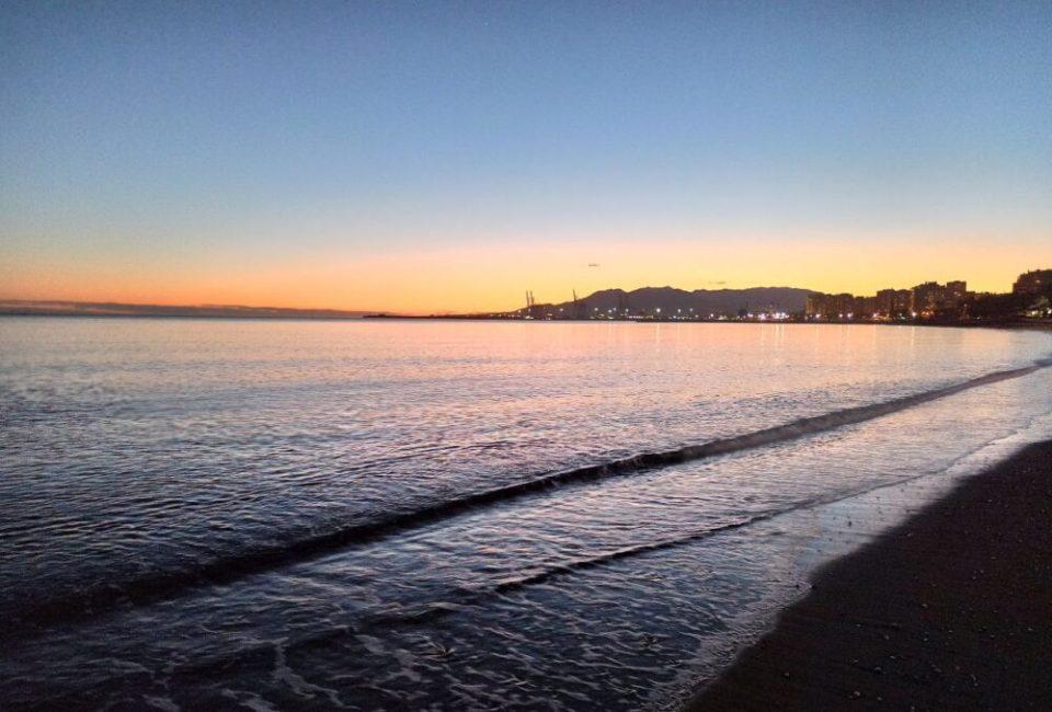 un hermoso viaje me dio Málaga