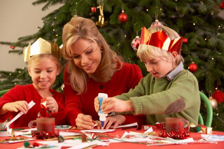 disfrutar de esta Navidad con niños