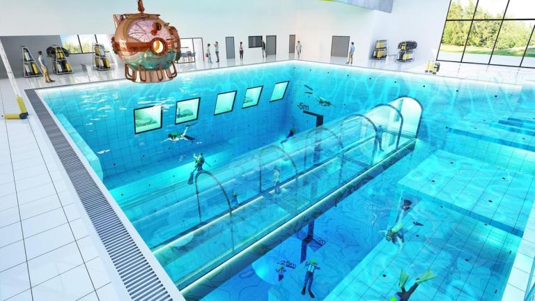 piscina más honda del mundo