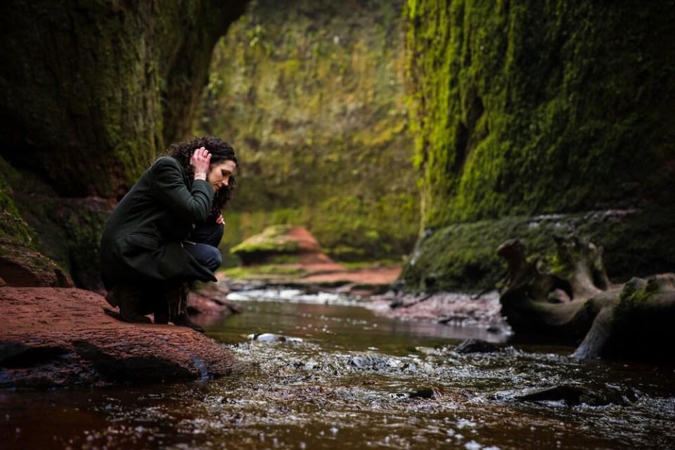 Púlpito del Diablo Ruta Outlander en Escocia