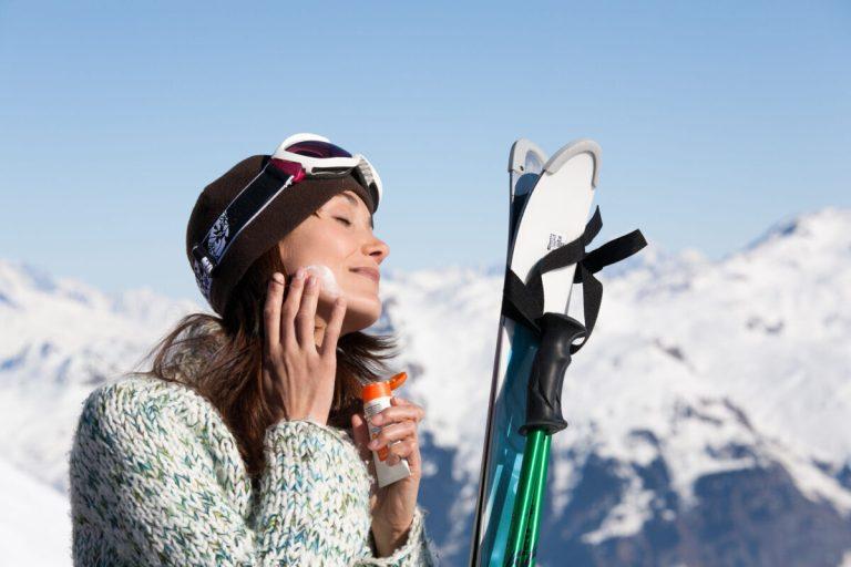cremas para proteger la piel de la nieve