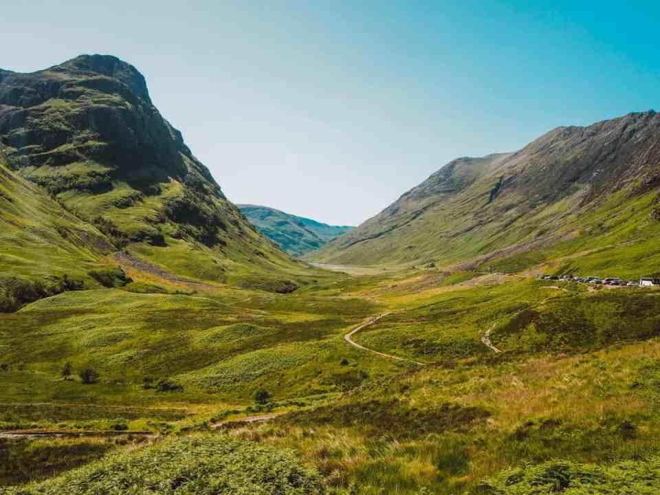 Glencoe ruta de Outlander en Escocia