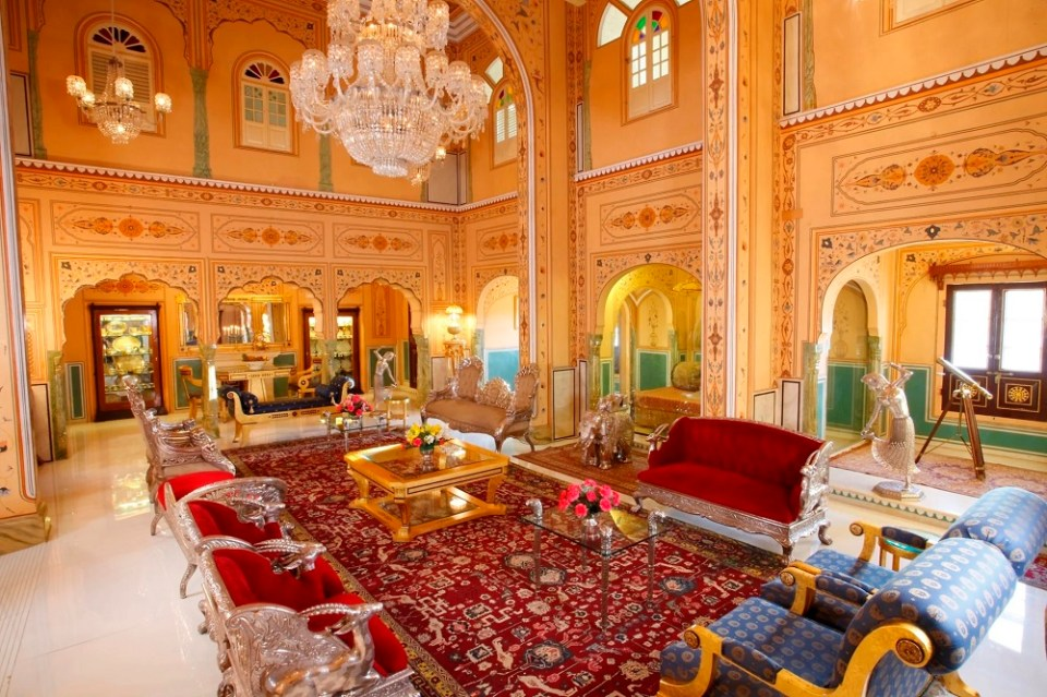 Raj Palace en Jaipur
