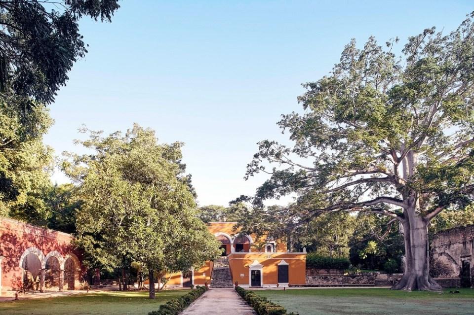 La hacienda Uayamon en Campeche, es uno de los hoteles más lujosos de México
