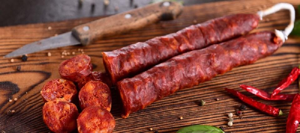 No puedes irte de la provincia sin probar el chorizo, un clásico de la gastronomía de Zamora