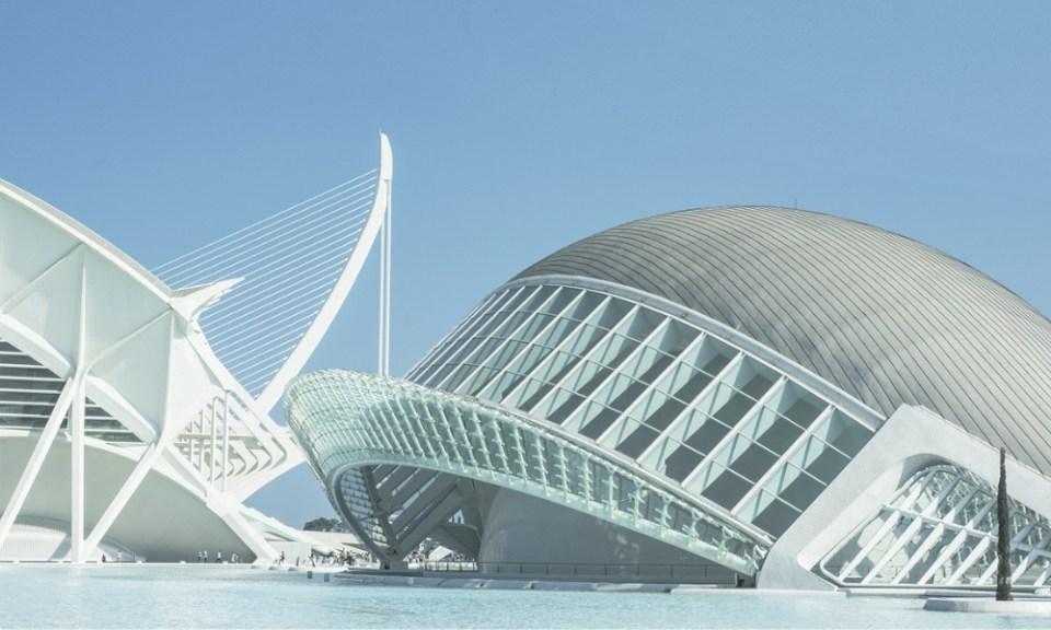 lugares para visitar en Valencia: ciudad artes y ciencias