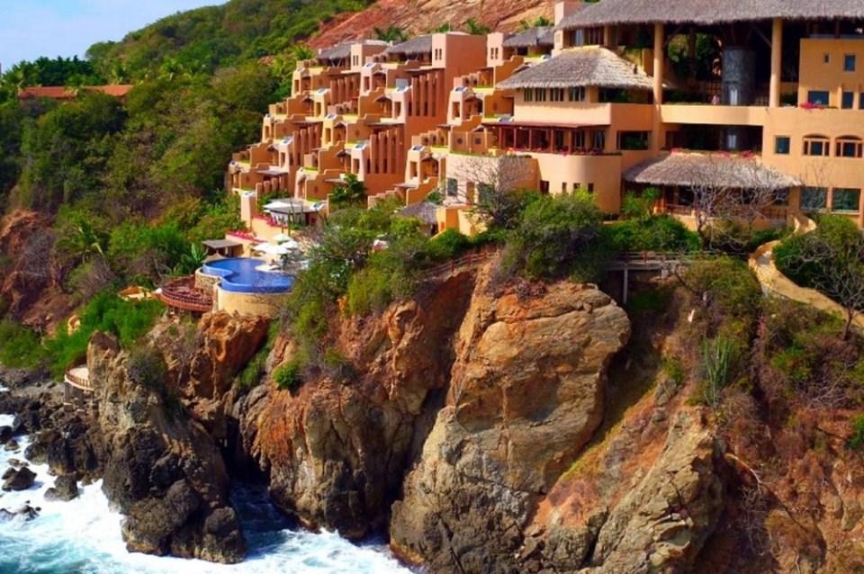 En Ixtapa se encuentra uno de los hoteles más lujosos de México