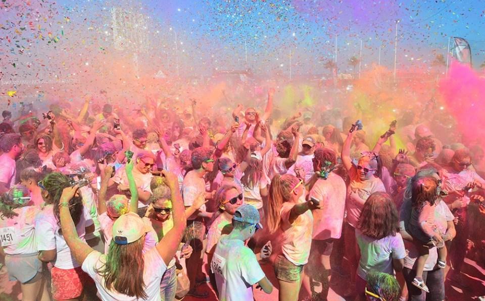 En Campeche el carnaval incluye una celebración llamada pintadera