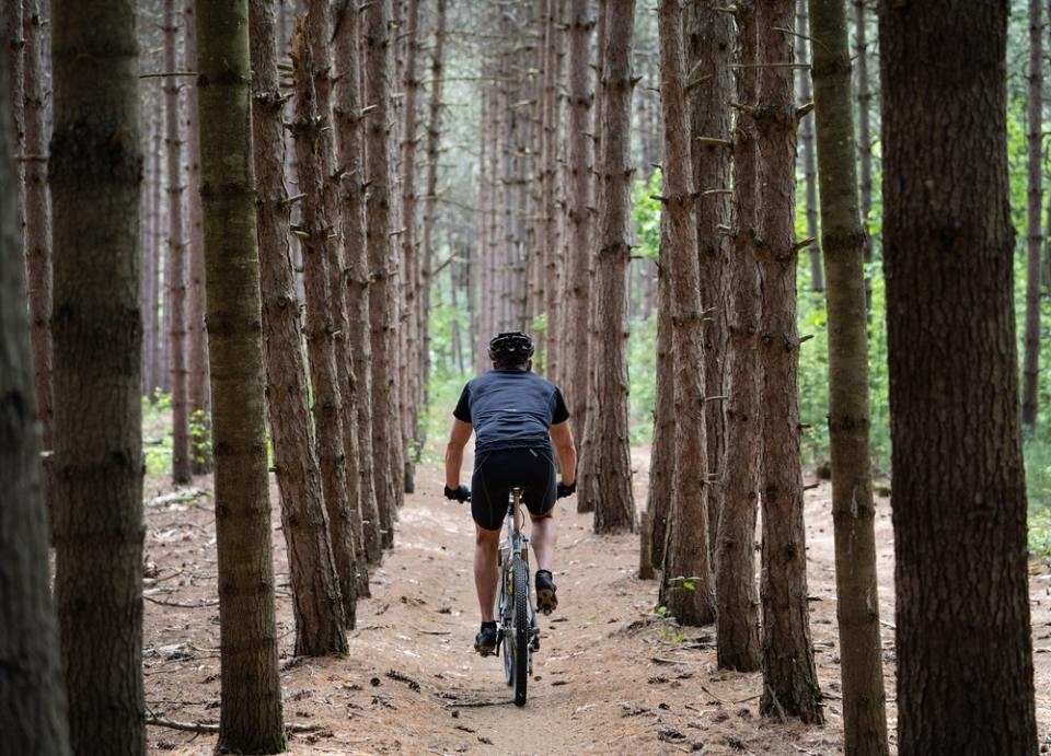 Las rutas en bici son ideales para ir solo o en familia