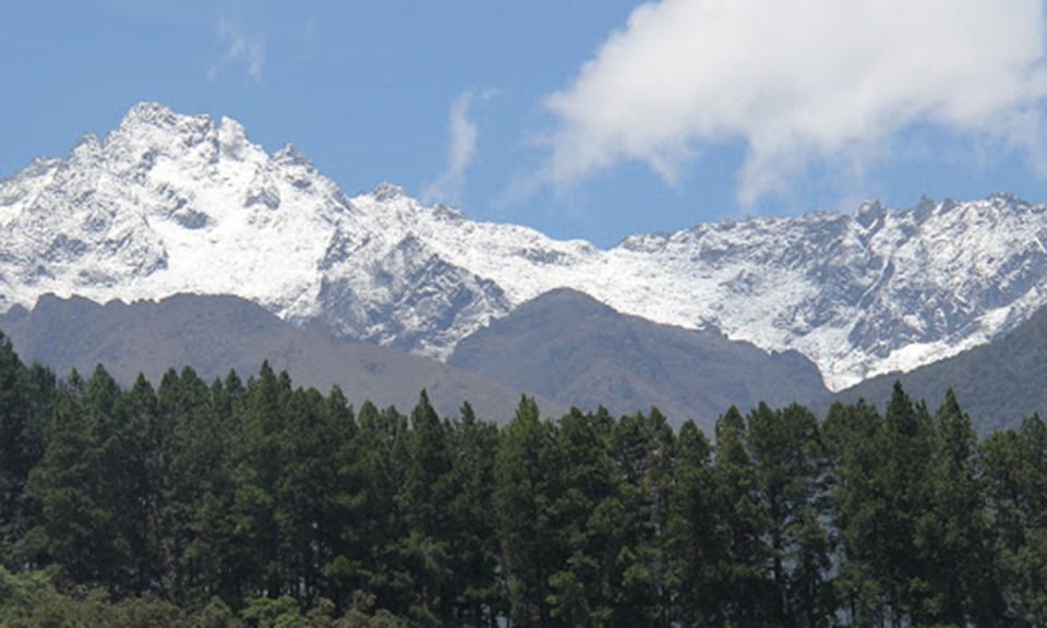 Sitios de interés turístico en el Parque Nacional Sierra Nevada