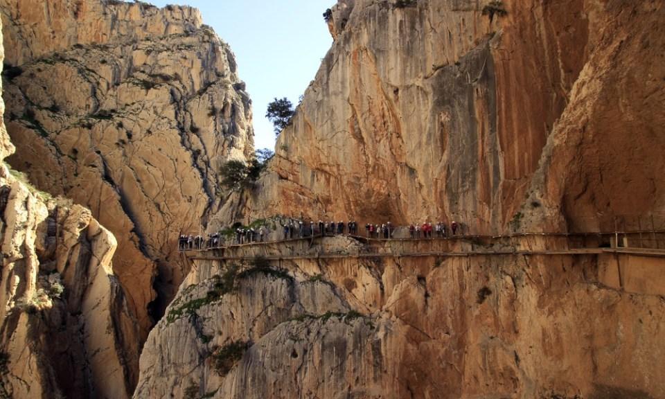 rutas de senderismo Málaga: caminito del rey