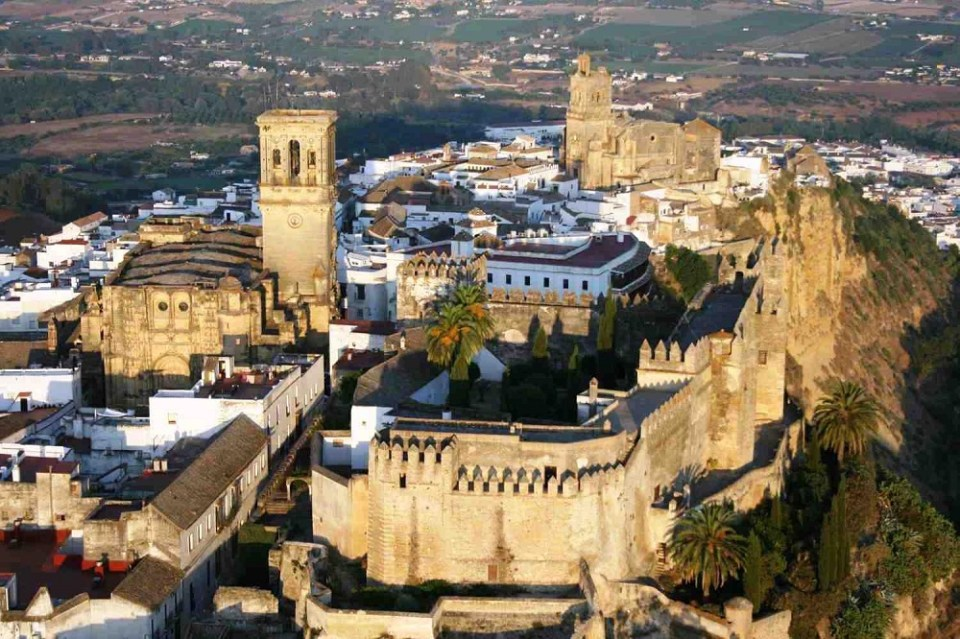 Arcos de la Frontera rutas en coche por España