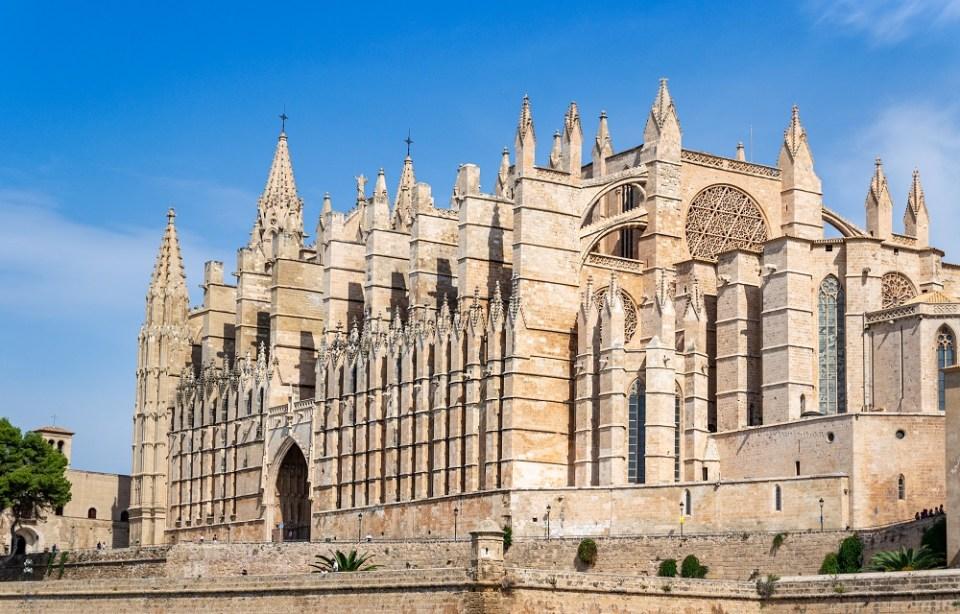 Catedral de Plama de Mallorca, sitio de interés en Mallorca