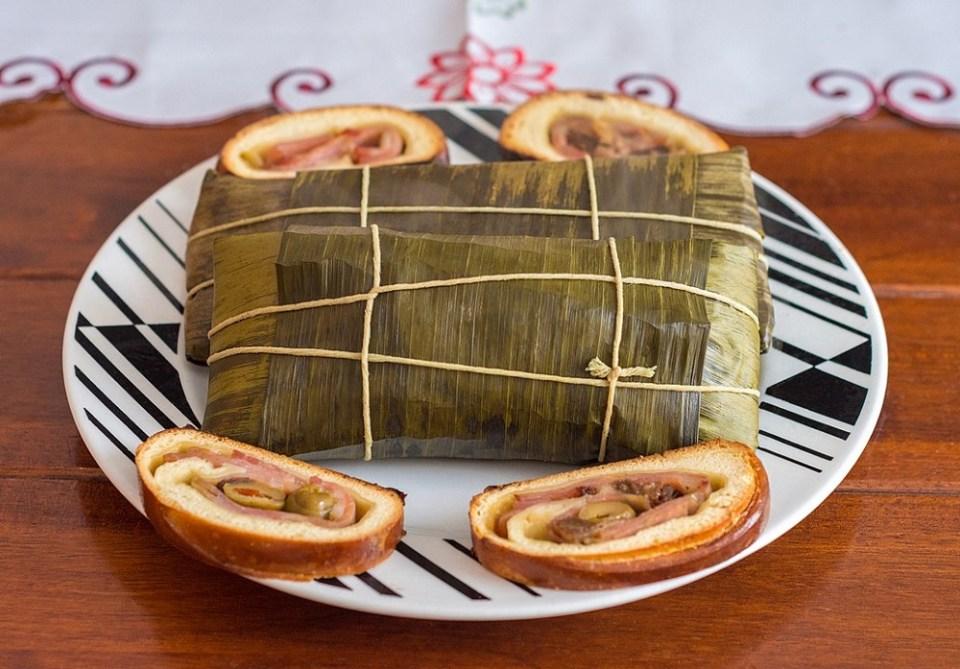La hallaca es un plato tradicional de la comida venezolana