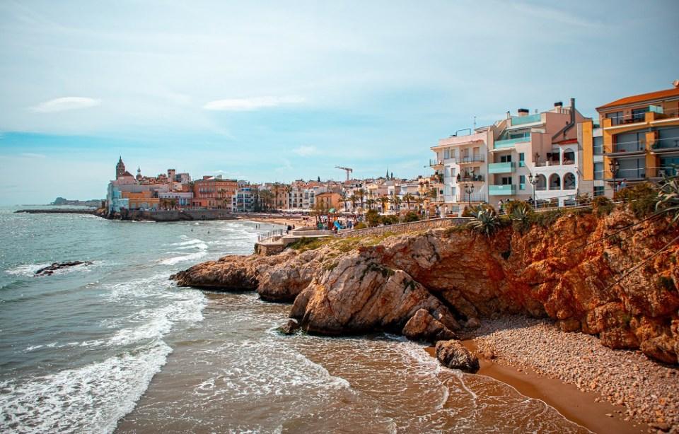 hoteles baratos en Sitges playa