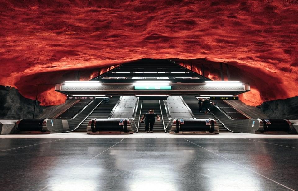 estaciones de metro sencillas