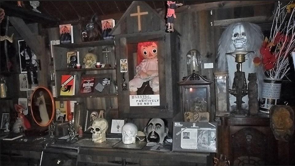 En el museo de los Warren se encuentra Annabelle