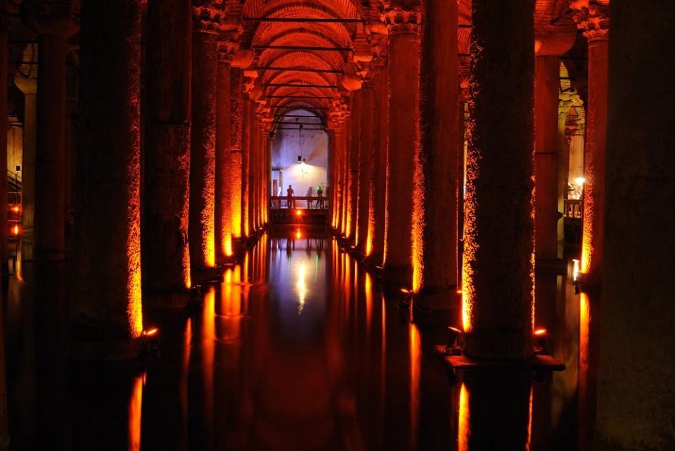 qué ver en Estambul cisterna basilica