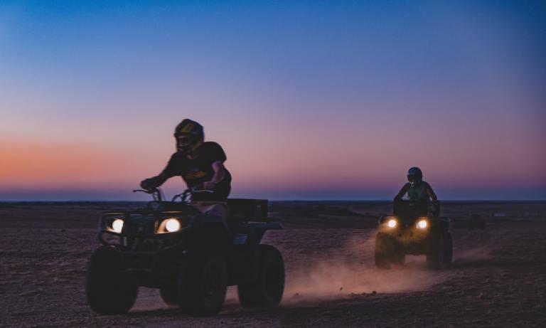Las rutas en quad por Lanzarote son fáciles de seguir