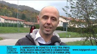 Inquinamento da bruciatori e cementerie secondo i comitati