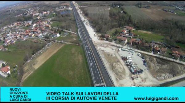 Video talk su Autovie Venete