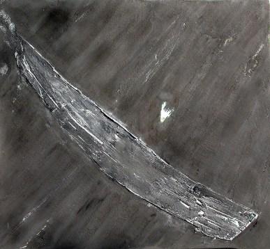 arch.n. 585 I colori della coscienza Affresco su tavola, cm 110x100 anno 2003