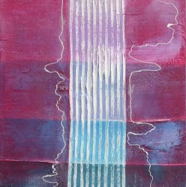 arch.n. 577 I colori della coscienza 130 Affresco su tavola, cm 42x44 anno 2003