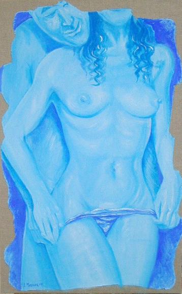 arch.n.143 Bella affresco su tela, cm 52x84, anno 2001