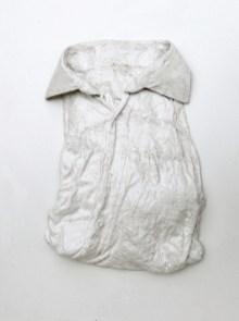 Corpo fisico 1 arch.n. 945 indumento+gesso e resine , 2010-2011