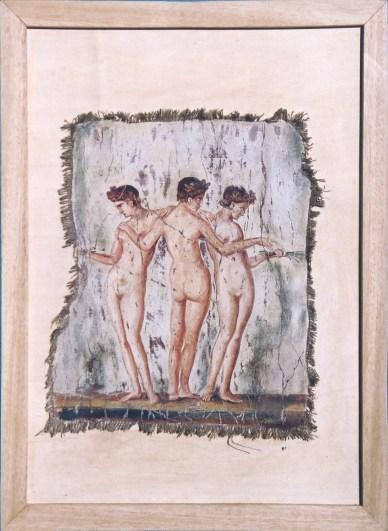 arch.n. 163 Encausto su tela, cm 44x60 – anno 2001