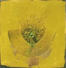 arch.n. 607 Sintesi Affresco ad encausto su tavola, cm 42x40 – anno 2003