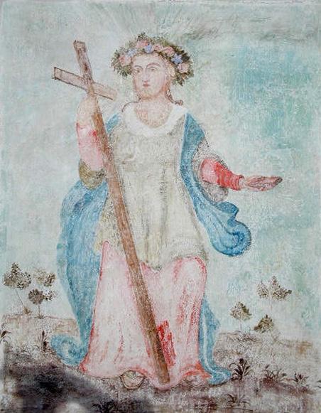 arch.n.72 strappo di affresco n 2 – cm 66x86 – anno 2000