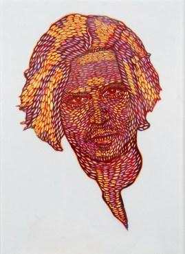 dualita7.arch.n. 913 Jonny Depp, cm 43x30 – grafica su 5 fogli di acetato + teka, 2011